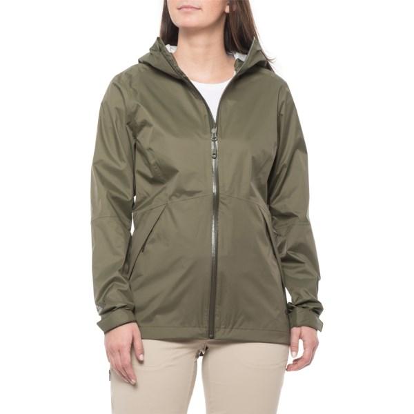 【クーポンで最大2000円OFF】(取寄)マウンテンハードウェア レディース エクスポーネント 2 レイン ジャケット Mountain Hardwear Women Exponent 2 Rain Jacket Dark Army