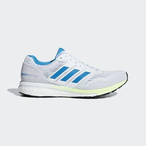 (取寄)アディダス レディース アディゼロ ボストン 7 ランニングシューズ adidas Women Adizero Boston 7 Shoes Cloud White / Shock Cyan / Hi-Res Yellow