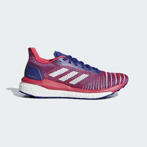 (取寄)アディダス レディース ソラードライブ ランニングシューズ adidas Women Solardrive Shoes Active Blue / Cloud White / Shock Red