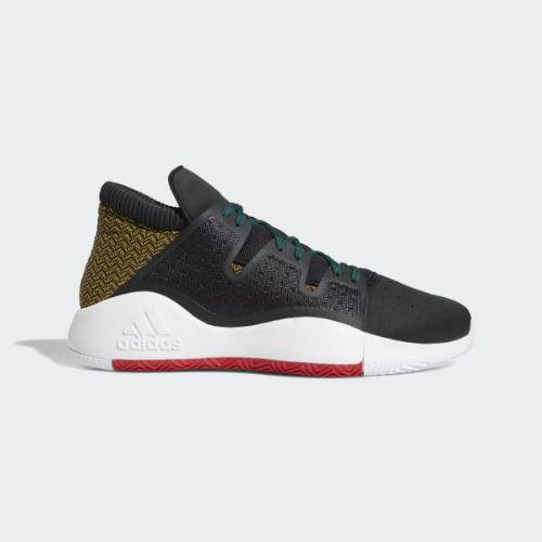 (取寄)アディダス メンズ プロ ビジョン バスケットボールシューズ adidas Men's Pro Vision Shoes Core Black / Bold Gold / Cloud White