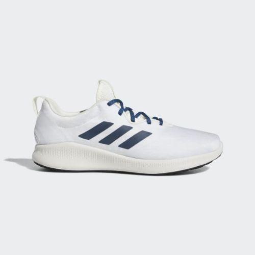 (取寄)アディダス メンズ ピュア バウンス+ ストリート ランニングシューズ adidas Men's Purebounce+ Street Shoes Running White / Legend Marine / Aero Blue