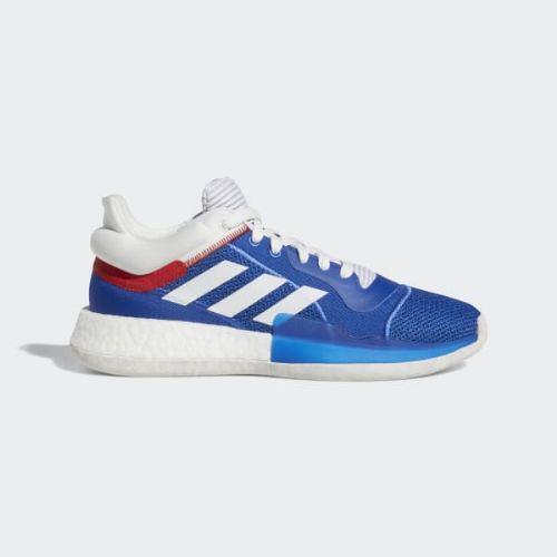 (取寄)アディダス メンズ マーキー ブースト ロウ バスケットボールシューズ adidas Men's Marquee Boost Low Shoes Collegiate Royal / Crystal White / Blue