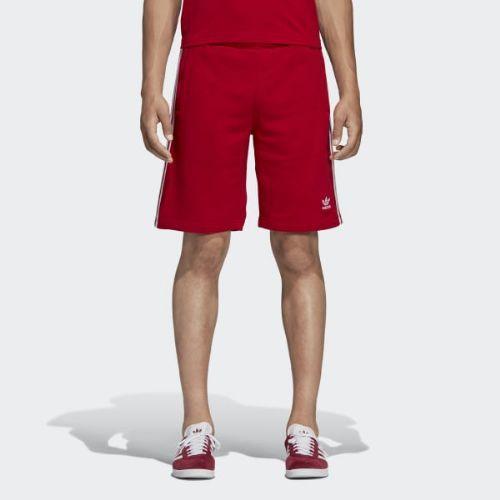 (取寄)アディダス オリジナルス メンズ 3-ストライプス ショーツ adidas originals Men's 3-Stripes Shorts Power Red
