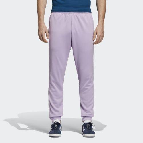 (取寄)アディダス オリジナルス メンズ SST トラック パンツ adidas originals Men's SST Track Pants Purple Glow