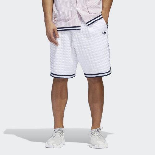 (取寄)アディダス オリジナルス メンズ チェッカード ショーツ adidas originals Men's Checkered Shorts White / White