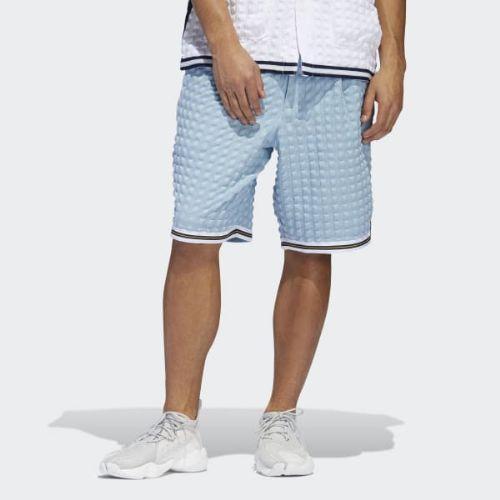 (取寄)アディダス オリジナルス メンズ チェッカード ショーツ adidas originals Men's Checkered Shorts Ash Grey / White