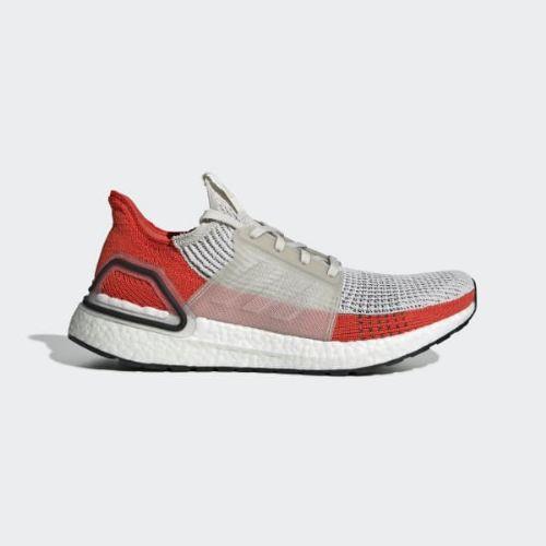 (取寄)アディダス メンズ ウルトラブースト 19 ランニングシューズ adidas Men's Ultraboost 19 Shoes Raw White / Cloud White / Active Orange