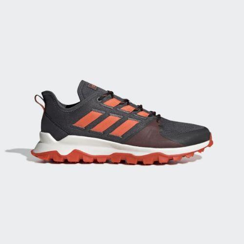 (取寄)アディダス メンズ カナディア トレイル ランニングシューズ adidas Men's Kanadia Trail Shoes Grey Six / Active Red / Core Black