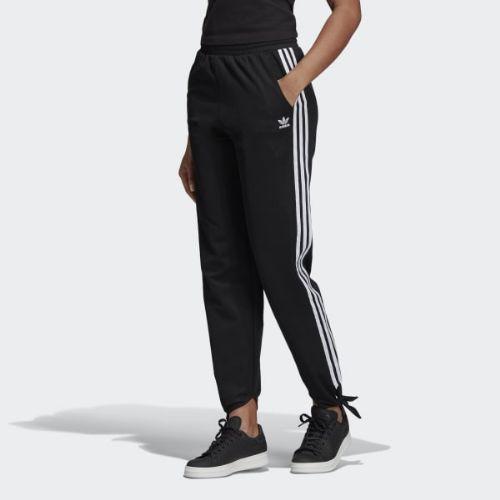 (取寄)アディダス オリジナルス レディース ノテッド トラック パンツ adidas originals Women Knotted Track Pants Black
