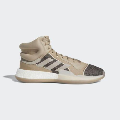 (取寄)アディダス メンズ マーキー ブースト バスケットボールシューズ adidas Men's Marquee Boost Shoes Trace Khaki / Light Brown / Core Black