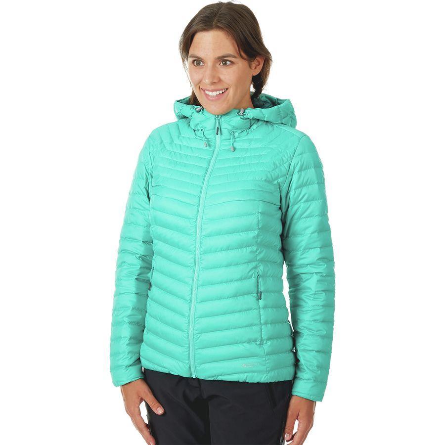 【ハイキング 登山 マウンテン アウトドア】【ウェア アウター】【山ガール ファッション ブランド】【大きいサイズ ビッグサイズ】 (取寄)マムート レディース コンベイ イン フーデッド ジャケット Mammut Women Convey IN Hooded Jacket Atoll/Teal