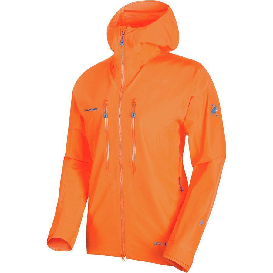(取寄)マムート メンズ ノードワンド アドバンスド HS フーデッド ジャケット Mammut Men's Nordwand Advanced HS Hooded Jacket Sunrise