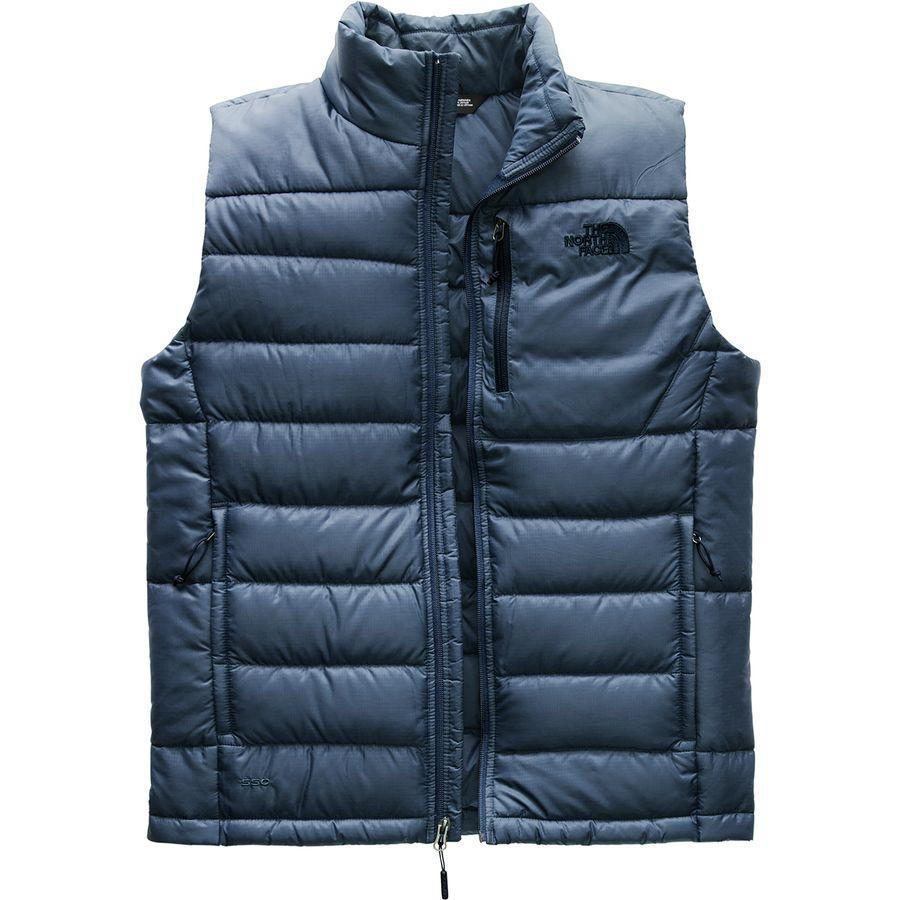【クーポンで最大2000円OFF】(取寄)ノースフェイス メンズ アコンカグア ダウン ベスト The North Face Men's Aconcagua Down Vest Shady Blue
