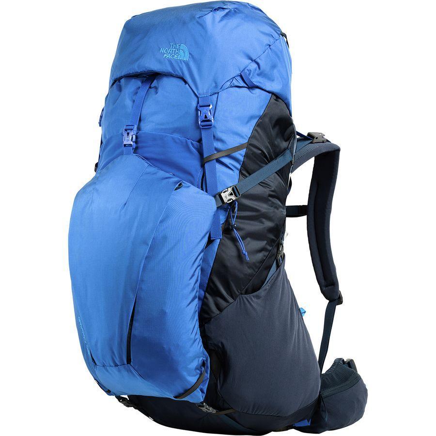 (取寄)ノースフェイス グリフィン 75L バックパック The North Face Men's Griffin 75L Backpack Urban Navy/Bright Cobalt Blue