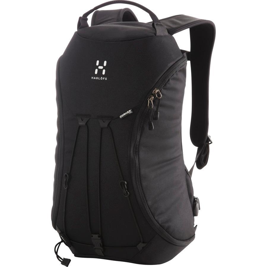 (取寄)ホグロフス ユニセックス コーカー メディア 18L バックパック Haglofs Men's Corker Medium 18L Backpack True Black/True Black