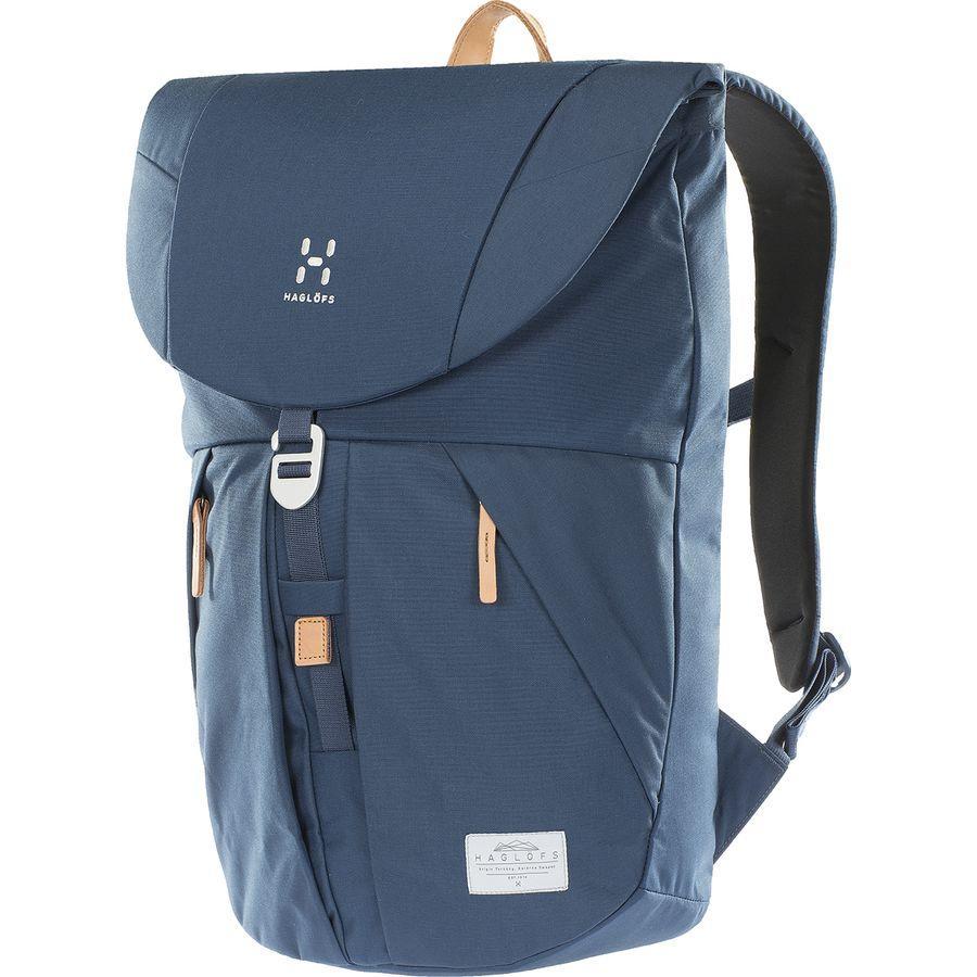 【エントリーでポイント5倍】(取寄)ホグロフス ユニセックス トーソン バックパック Haglofs Men's Torsang Backpack Blue Ink