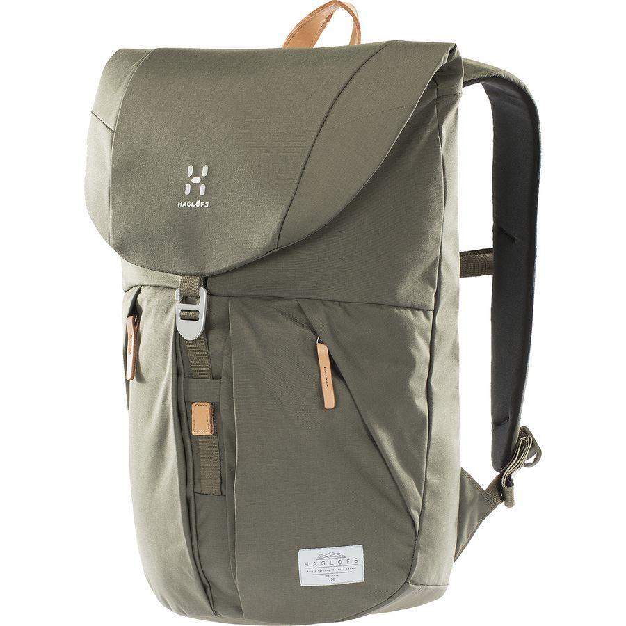 【エントリーでポイント5倍】(取寄)ホグロフス ユニセックス トーソン バックパック Haglofs Men's Torsang Backpack Sage Green