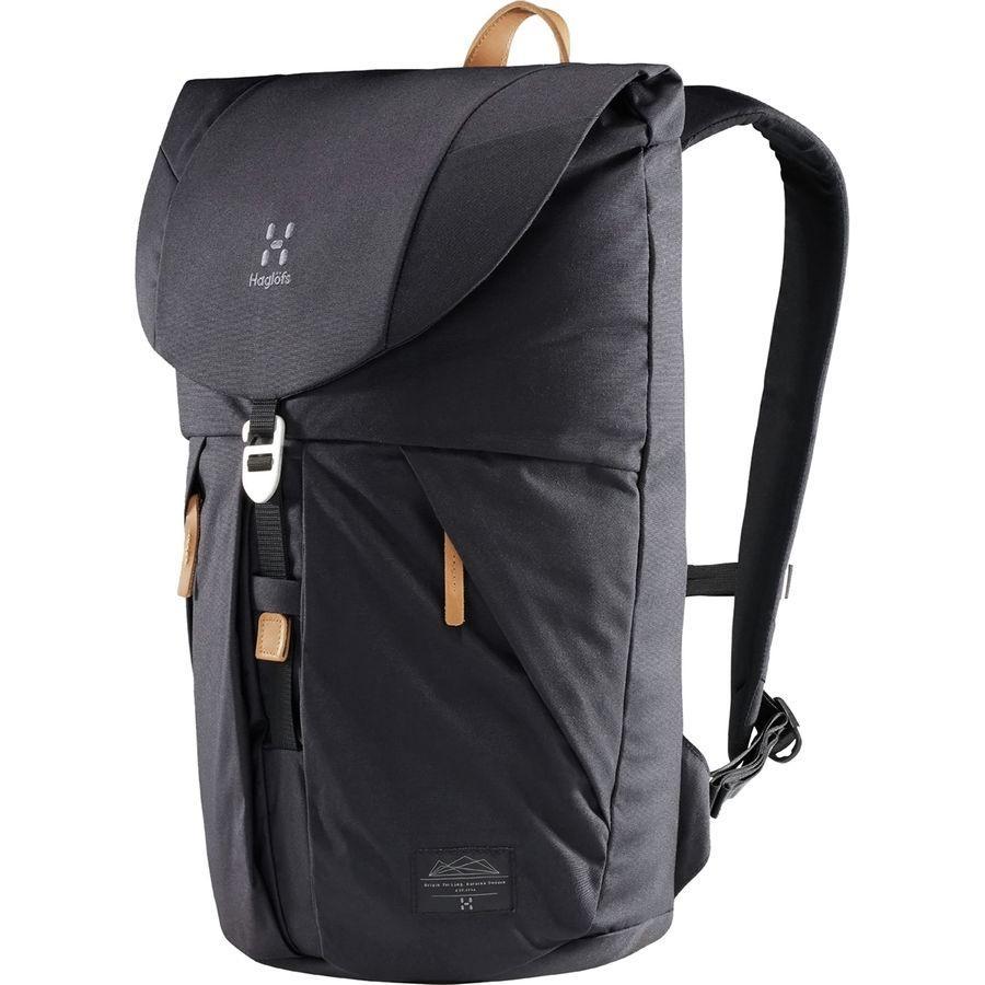 【エントリーでポイント5倍】(取寄)ホグロフス ユニセックス トーソン バックパック Haglofs Men's Torsang Backpack True Black