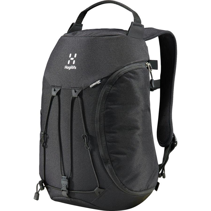 (取寄)ホグロフス ユニセックス コーカー スモール 11L バックパック Haglofs Men's Corker Small 11L Backpack True Black/True Black