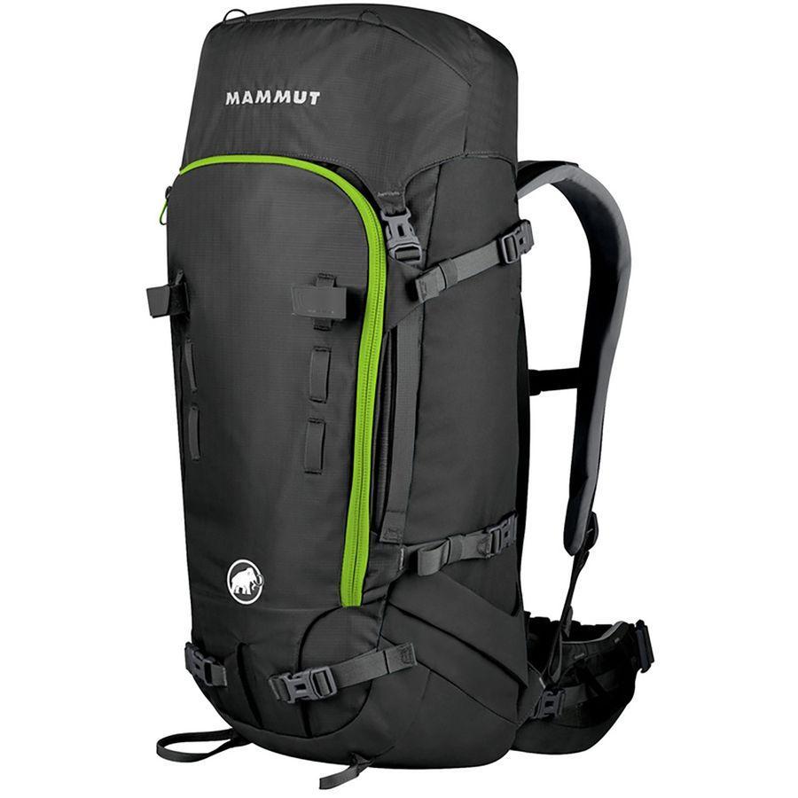 マムート ユニセックス トリオン プロ 35+7L バックパック Mammut Men's Trion Pro 35+7L Backpack Titanium