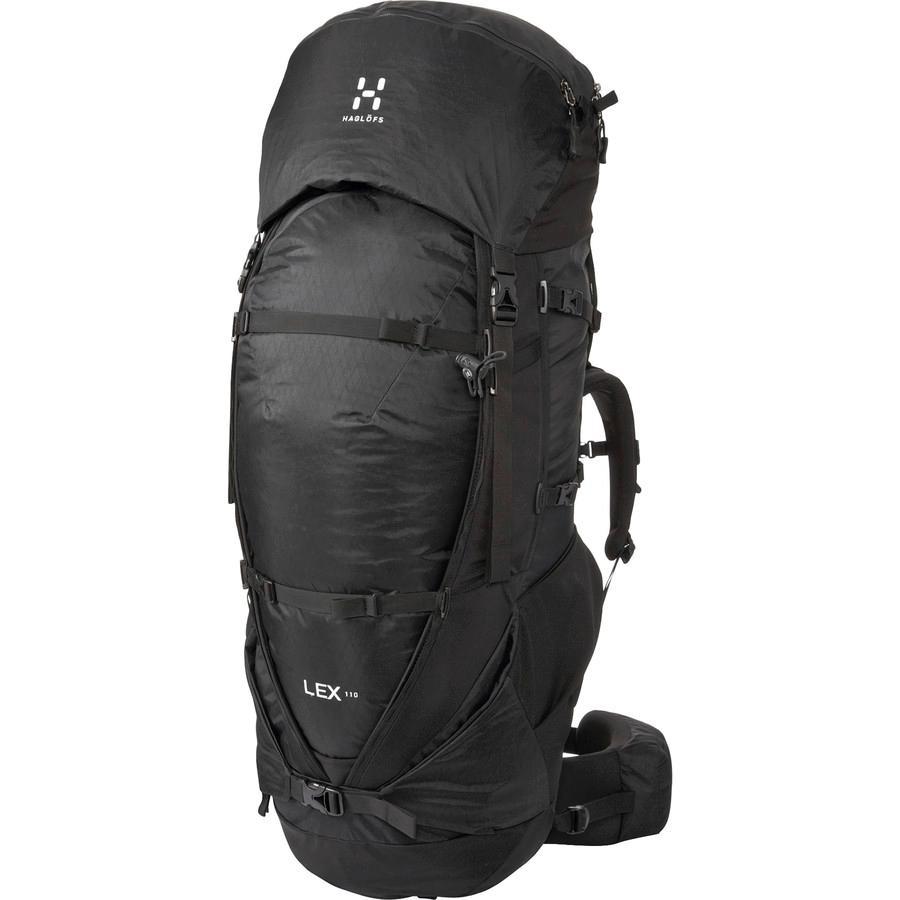 (取寄)ホグロフス ユニセックス レックス 110L バックパック Haglofs Men's Lex 110L Backpack True Black