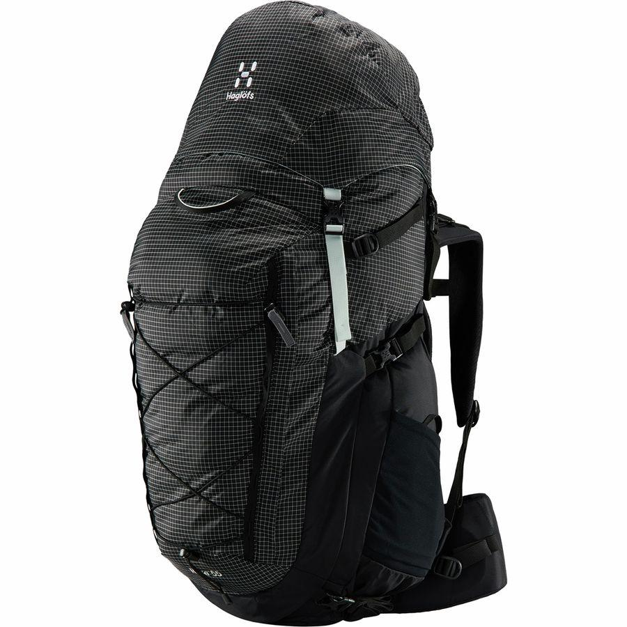 (取寄)ホグロフス レディース ローズ 55L バックパック Haglofs Women Rose 55L Backpack True Black