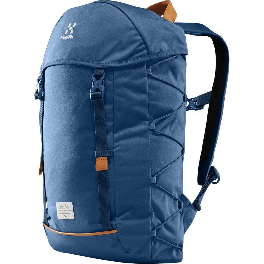 【エントリーでポイント5倍】(取寄)ホグロフス ユニセックス ショーショー 26L バックパック Haglofs Men's Shosho 26L Backpack Blue Ink
