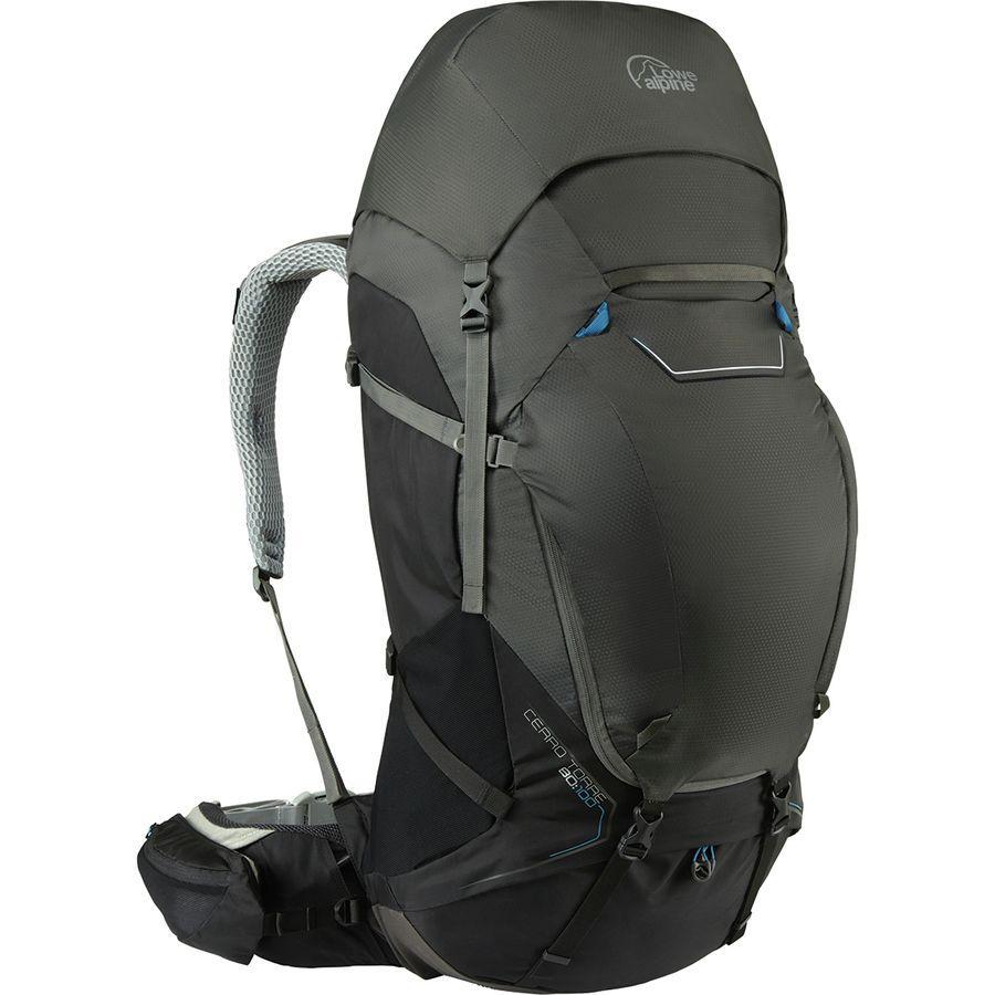 (取寄)ロウアルパイン ユニセックス セロ トーレ 80:100L バックパック Lowe Alpine Men's Cerro Torre 80:100L Backpack Black/Greyhound