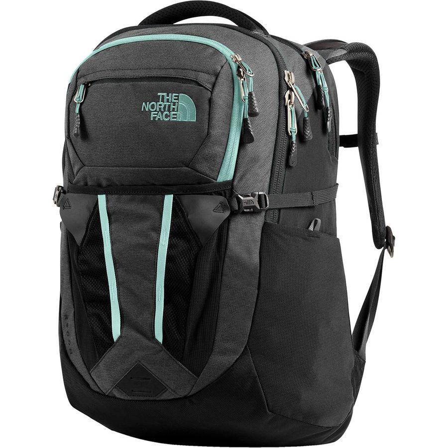 (取寄)ノースフェイス レディース リーコン 30L バックパック The North Face Women Recon 30L Backpack Asphalt Grey Light Heather/Windmill Blue