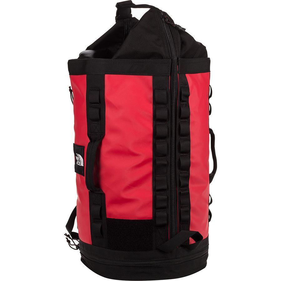 (取寄)ノースフェイス エクスプロア Haulaback 43.5L バッグ The North Face Men's Explore Haulaback 43.5L Bag Tnf Red/Tnf Black