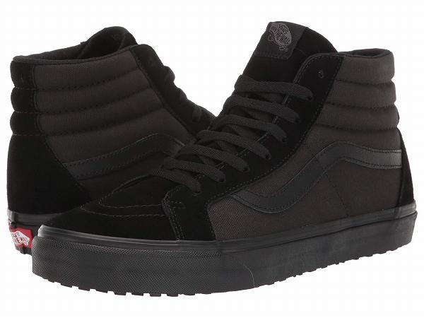 (取寄)Vans(バンズ) スニーカー メイド フォー ザ メーカーズ スケート ハイ リイシュー UC ユニセックス メンズ レディース Vans Unisex Made For The Makers SK8 Hi Reissue UC (Made For The Makers) Black/Black/Black