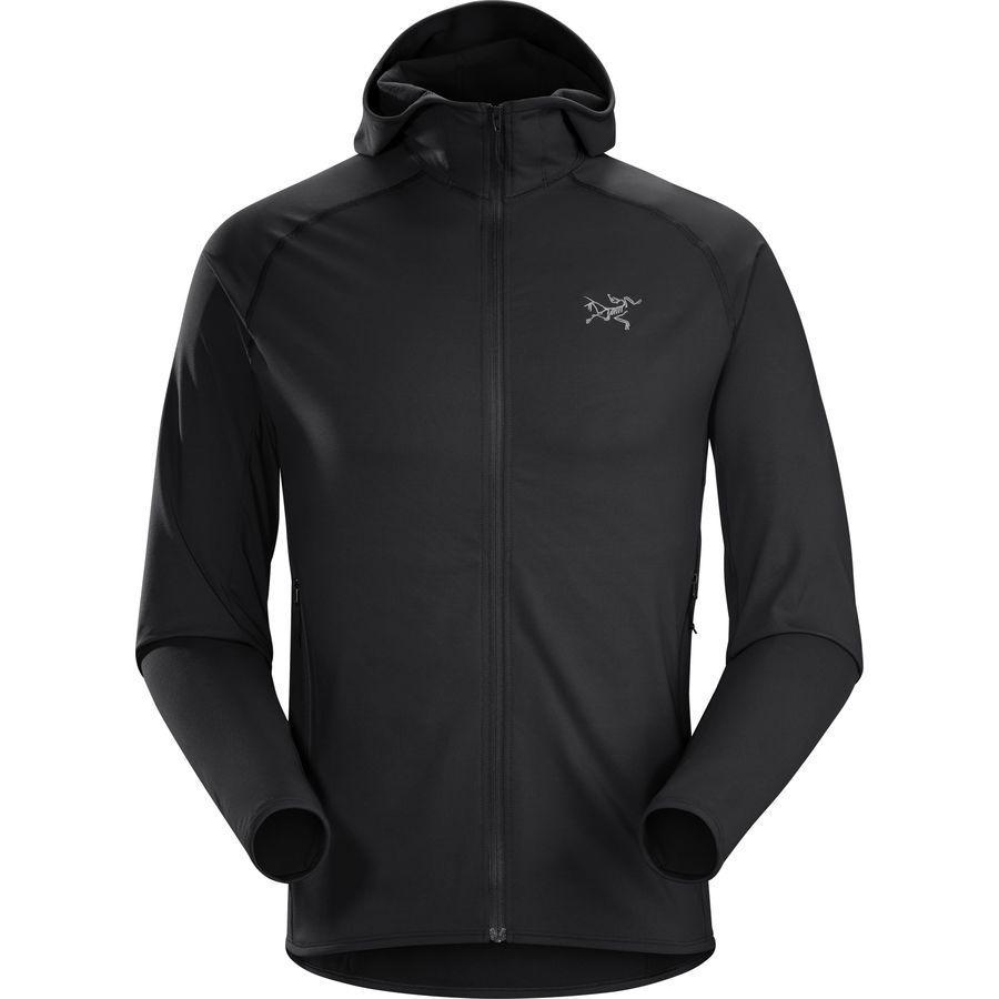 (取寄)アークテリクス メンズ Adahy フーデッド フリース ジャケット Arc'teryx Men's Adahy Hooded Fleece Jacket Black