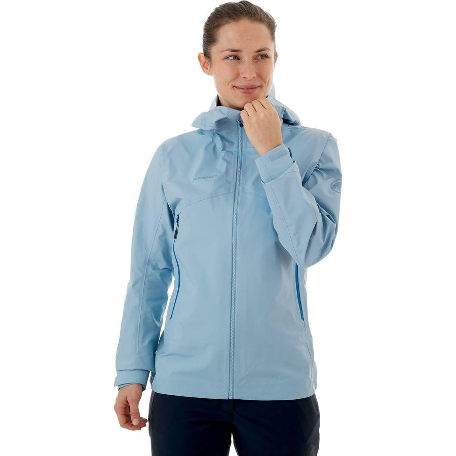(取寄)マムート レディース メロン ライト HS ジャケット Mammut Women Meron Light HS Jacket Zen/Surf