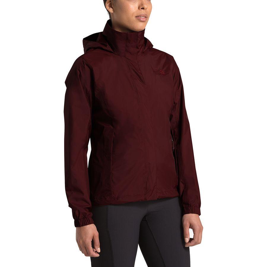 (取寄)ノースフェイス レディース リゾルブ 2 フーデッド ジャケット The North Face Women Resolve 2 Hooded Jacket Deep Garnet Red