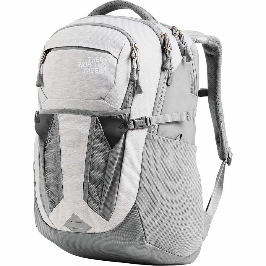 (取寄)ノースフェイス レディース リーコン 30L バックパック The North Face Women Recon 30L Backpack Tnf White Metallic Melange/Mid Grey