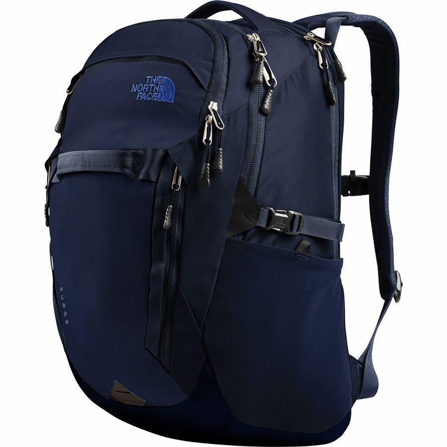 (取寄)ノースフェイス サージ 31L バックパック The North Face Men's Surge 31L Backpack Montague Blue/Tnf Blue