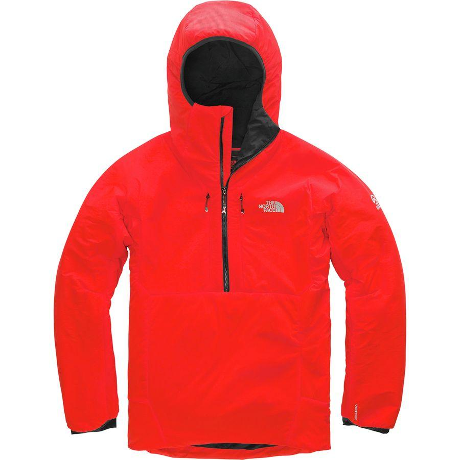 【クーポンで最大2000円OFF】(取寄)ノースフェイス メンズ サミット L3 ヴェントリックス 1/2-Zipフーデッド ジャケット The North Face Men's Summit L3 Ventrix 1/2-Zip Hooded Jacket Fiery Red/Tnf Black