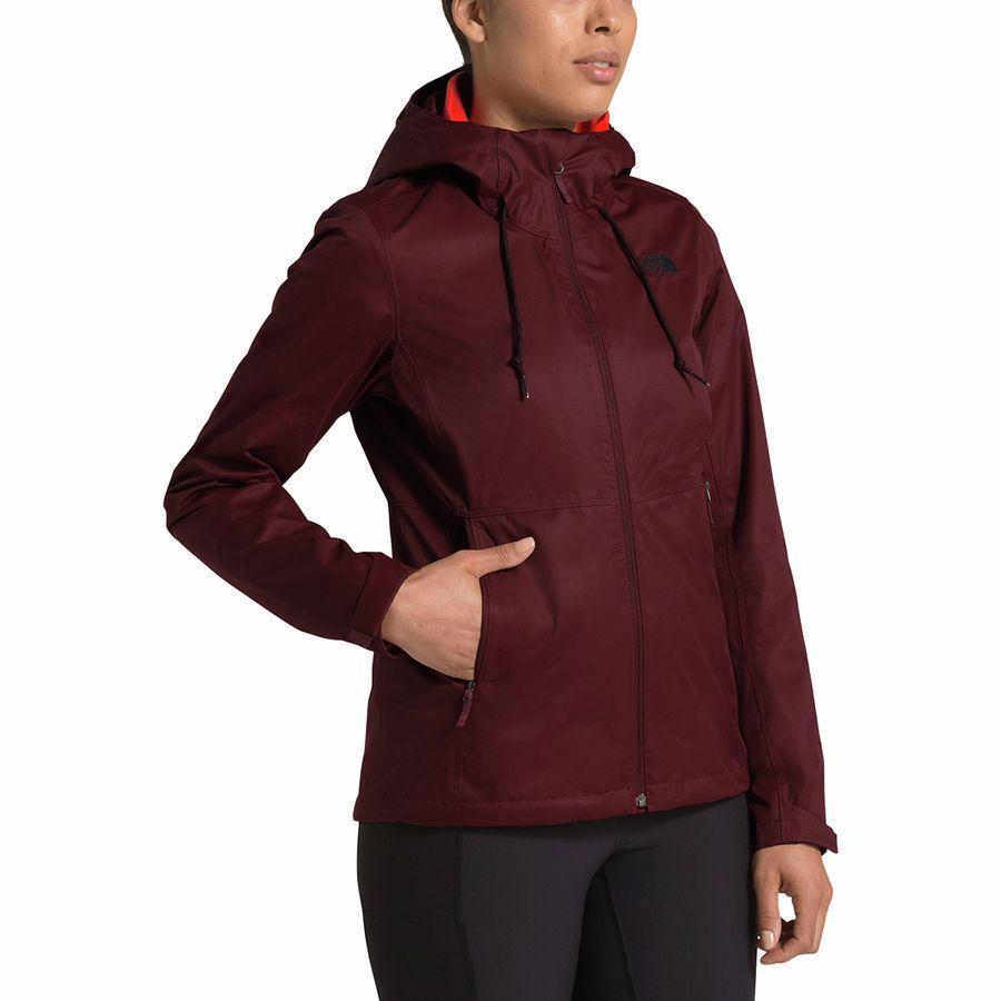 【クーポンで最大2000円OFF】(取寄)ノースフェイス レディース アロウッド トリクラメイト フーデッド 3-In-1 ジャケット The North Face Women Arrowood Triclimate Hooded 3-In-1 Jacket Deep Garnet Red/Deep Garnet Red