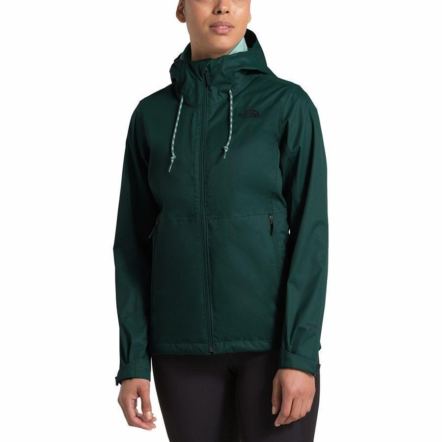 【ハイキング 登山 マウンテン アウトドア】【ウェア アウター】【山ガール ファッション ブランド】【大きいサイズ ビッグサイズ】 (取寄)ノースフェイス レディース アロウッド トリクラメイト フーデッド 3-In-1 ジャケット The North Face Women Arrowood Triclimate Hooded 3-In-1 Jacket Ponderosa Green/Ponderosa Green