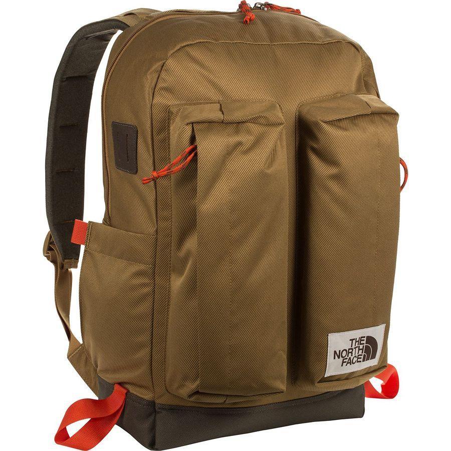【エントリーでポイント5倍】(取寄)ノースフェイス クレバス 25.5L デイパック The North Face Men's Crevasse 25.5L Daypack British Khaki/New Taupe Green