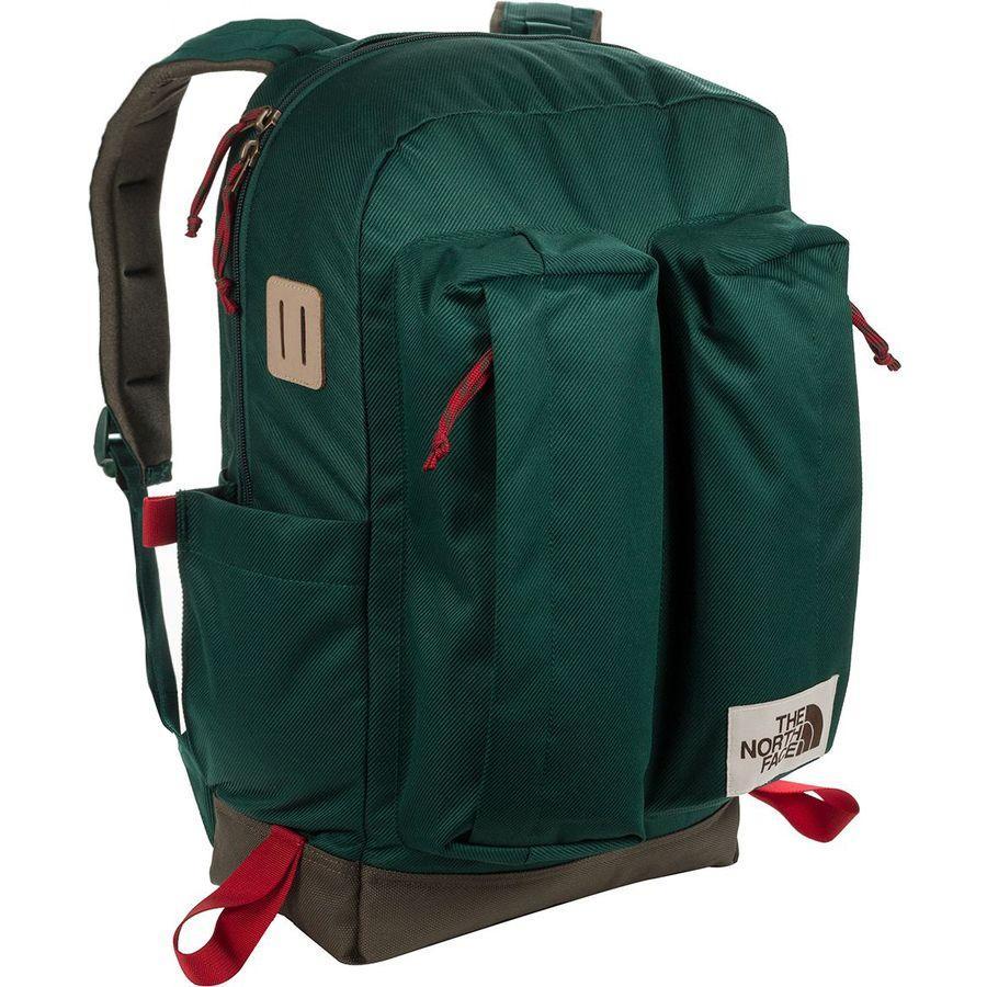 【エントリーでポイント5倍】(取寄)ノースフェイス クレバス 25.5L デイパック The North Face Men's Crevasse 25.5L Daypack Night Green/New Taupe Green