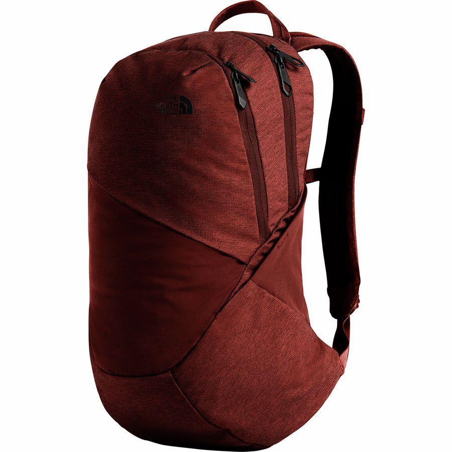 (取寄)ノースフェイス レディース イザベラ 17L バックパック リュック バッグ The North Face Women Isabella 17L Backpack Sequoia Red Light Heather/Sequoia Red