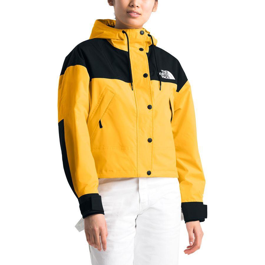 【クーポンで最大2000円OFF】(取寄)ノースフェイス レディース レイン オン ジャケット The North Face Women Reign On Jacket Tnf Yellow