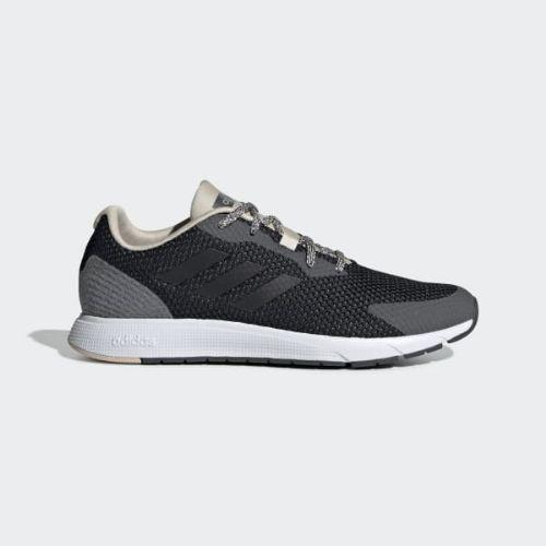 【クーポンで最大2000円OFF】(取寄)アディダス レディース スーラJ ランニングシューズ adidas Women Sooraj Shoes Core Black / Grey / Linen