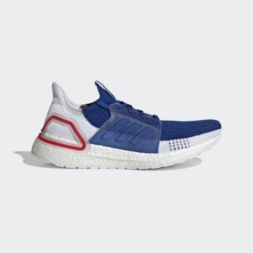 【クーポンで最大2000円OFF】(取寄)アディダス メンズ ウルトラブースト 19 ランニングシューズ adidas Men's Ultraboost 19 Shoes Cloud White / Cloud White / Grey One