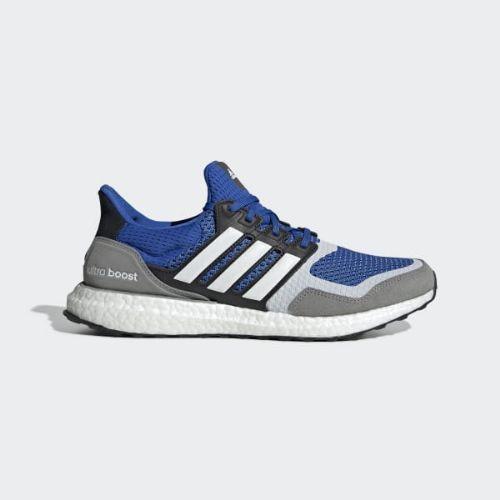 【クーポンで最大2000円OFF】(取寄)アディダス メンズ ウルトラブースト S&L ランニングシューズ adidas Men's Ultraboost S&L Shoes Blue / Cloud White / Grey Three