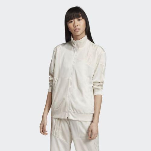 (取寄)アディダス オリジナルス レディース ダニエル カタリ ファイヤーバード トラック ジャケット adidas originals Women Danielle Cathari Firebird Track Jacket Running White