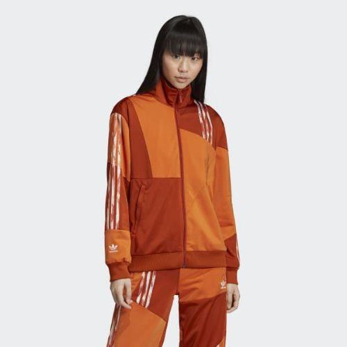(取寄)アディダス オリジナルス レディース ダニエル カタリ ファイヤーバード トラック ジャケット adidas originals Women Danielle Cathari Firebird Track Jacket Fox Red
