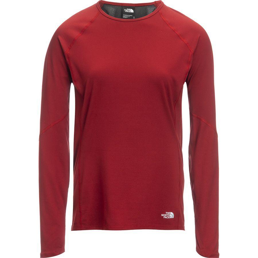 (取寄)ノースフェイス レディース ウィンター ワーム ロングスリーブ トップ The North Face Women Winter Warm Long-Sleeve Top Cardinal Red
