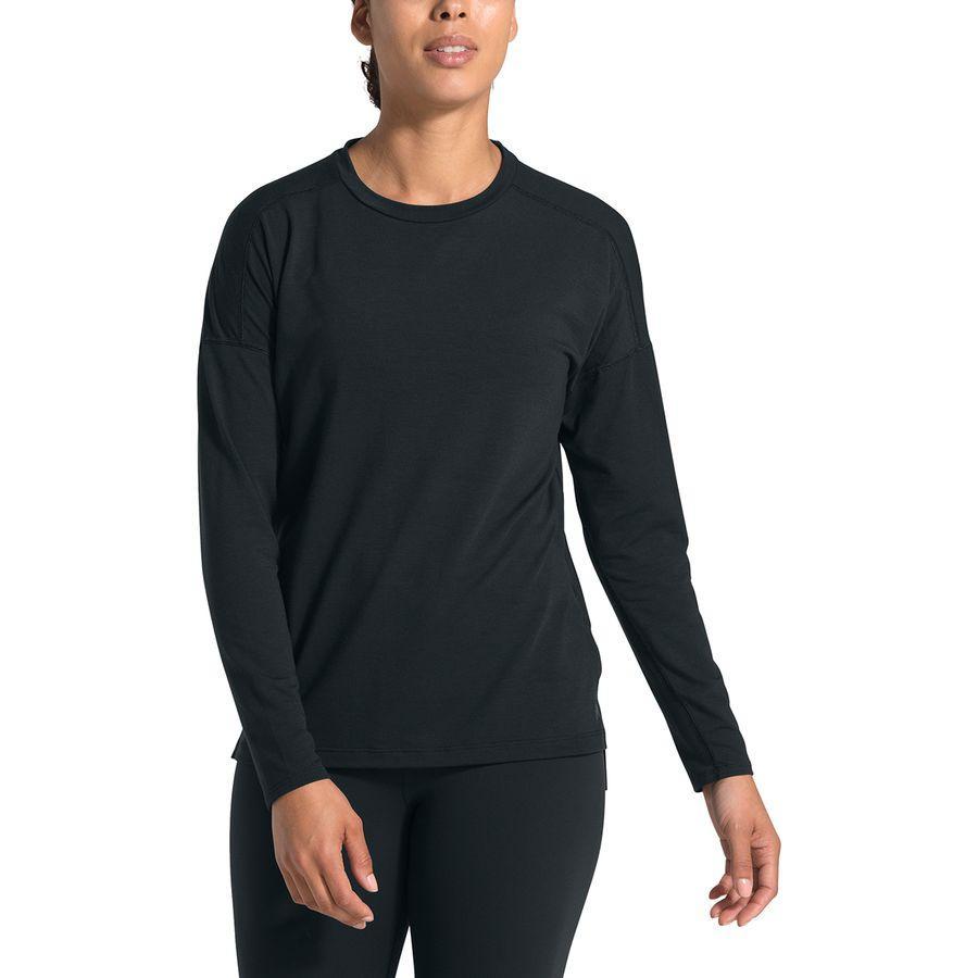 (取寄)ノースフェイス レディース ワークアウト ロングスリーブ トップ The North Face Women Workout Long-Sleeve Top Tnf Black